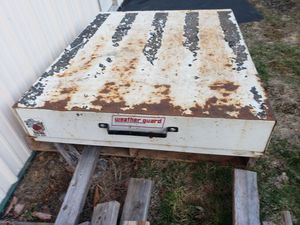 Rat pack large sliding toolbox by weather guard for Sale in Montrose, PA
