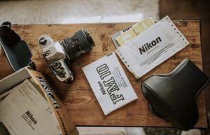 New Nikon FM10 with Nikkor 35-70mm f/3.5-4.8 and Boxes/ Manuals/Cases for Sale in Tempe, AZ