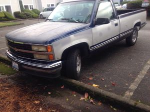1993 Chevy 2 Will Drive. Runs good new tires new brakes new oil for Sale in Lakewood, WA