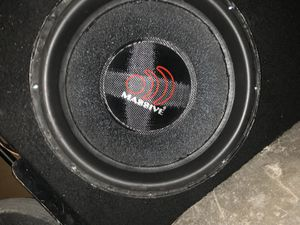 Massive audio hippo 15 inch speakers for Sale in The Bronx, NY