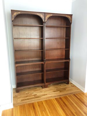 Two Wooden Bookcases for Sale in Greenwich, CT