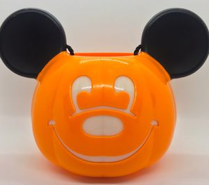 Disney Mickey Mouse Light Up Trick or Treat Halloween Pumpkin Pail Bucket for Sale in Tampa, FL