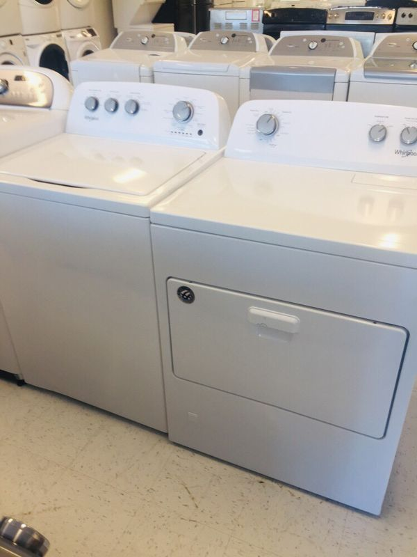 🔥🔥New Whirlpool washer and gas dryer set (6) months warranty 🔥🔥