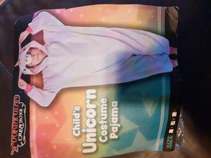 Child's unicorn costume pajama for Sale in Richardson, TX