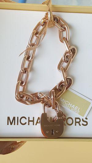 New Authentic Michael Kors Women's Rosegold Bracelet 🎁❤🎁❤🎁 for Sale in Montebello, CA