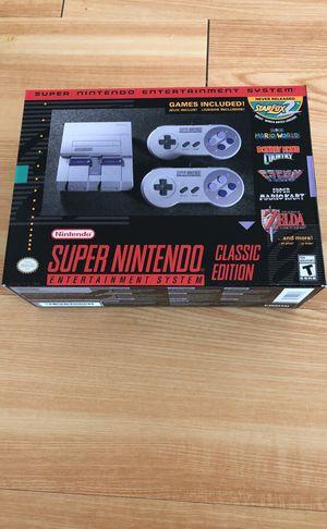 Super NES classic brand new for Sale in Boston, MA