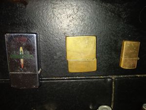 Vintage zippos make offers for Sale in Womelsdorf, PA
