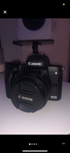 Canon EOS M50 Mirrorless 24.1MP W/15-45mm for Sale in Beverly Hills, CA