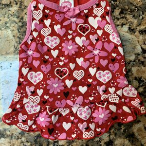 Red Hearts Dog Dress for Sale in Bakersfield, CA