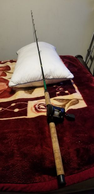 Varmac fishing rod with Daiwa Millionare Classic reel for Sale in Los Angeles, CA