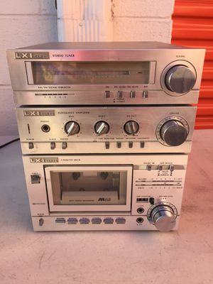 LXI stereo tuner system for Sale in Hyattsville, MD