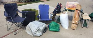 A LOT of Camping Stuff for $40 in Costa Mesa for Sale in Costa Mesa, CA