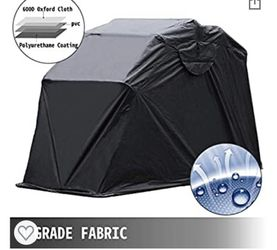 Brand New Motorcycle Shelter Shed Strong Frame Motorbike Garage Waterproof 106.5 Inch X41.5 Inch X61 Inch Motorbike Cover Tent Scooter Shelter 120055 for Sale in Los Angeles,  CA