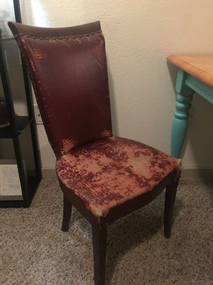 Antique Red Chair for Sale in Austin, TX
