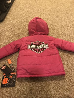 Toddler Harley Davidson Jacket - Foldable for Sale in Evesham Township, NJ