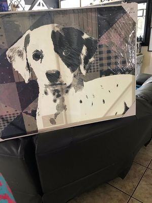 Large new dog picture for Sale in Houston, TX