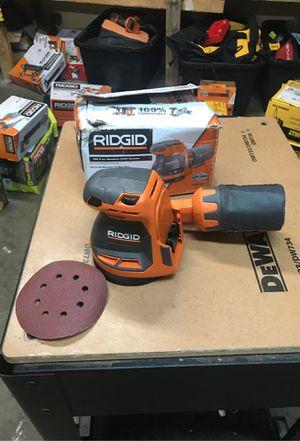 RIDGID 18-Volt Cordless 5 in. Random Orbit Sander (Tool Only) for Sale in Fontana, CA