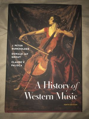 A History of Western Music 10th Edition for Sale in Los Angeles, CA