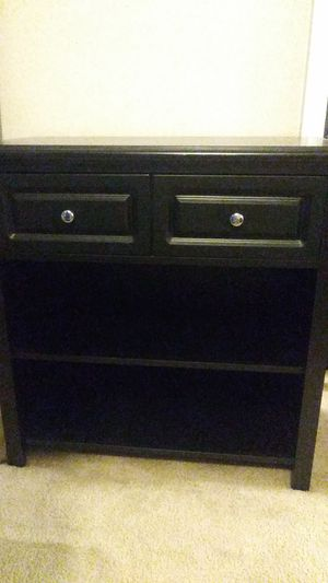 Storage table with 2 shelves & 2 drawers for Sale in Baltimore, MD