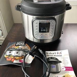 Instant Pot IP-Duo, 4th Edition for Sale in Chicago, IL