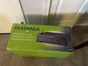 Insignia Stereo Receiver NEVER OPENED for Sale in Narberth, PA
