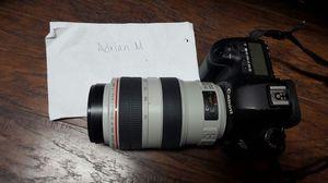 Canon Mark III 70-300 mm for Sale in Dallas, TX
