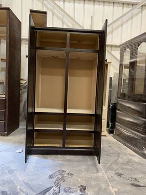 $329 brand new wooden wardrobe for Sale in Long Beach, CA