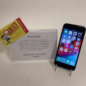 iPhone 6 64GB Unlocked for Sale in Kansas City, MO