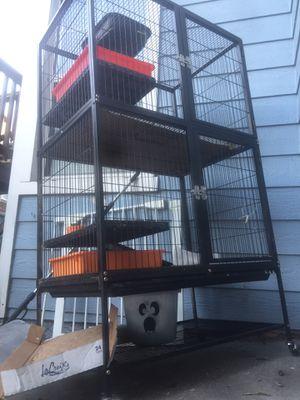 Small animal cage pet guinea pig rabbit ferret bird rat for Sale in Oakland, CA