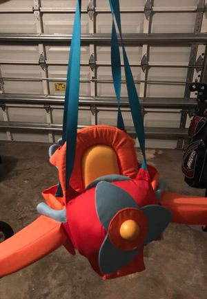 Airplane swing for toddler and baby for Sale in Plantation, FL