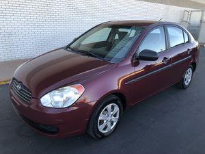 2009 hyundai accent clean title 128k miles automatic clean inside runs good cold a/c $3400 for Sale in Phoenix, AZ