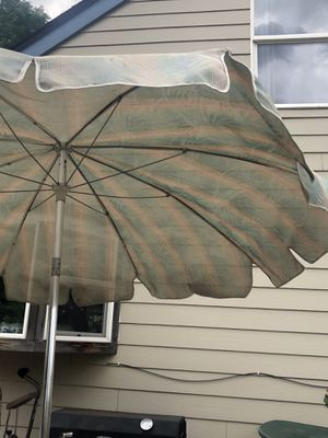 Umbrella with stand for Sale in Littleton, CO