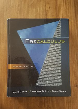 Precalculus textbook for Sale in Concord, CA