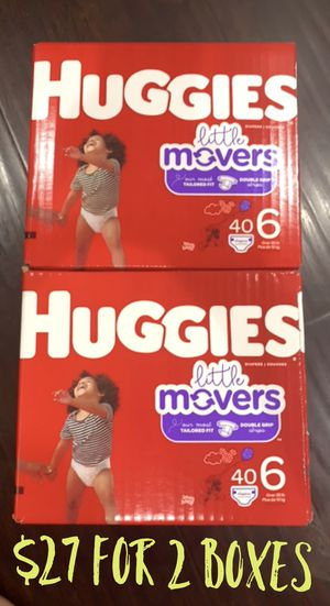 Huggies Little Mover size 6 for Sale in Long Beach, CA