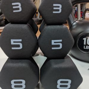 32 LB Dumbbell Set With Rack for Sale in Snohomish, WA