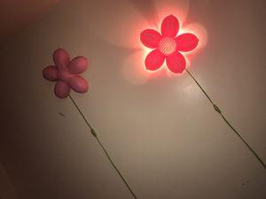 Flower light decor for girls for Sale in Boston, MA