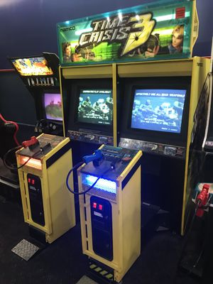 Time crisis 3 video arcade game for Sale in Fresno, CA