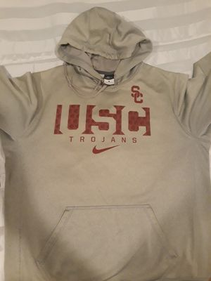 NIKE USC TROJANS HOODIE SIZE LARGE for Sale in Los Angeles, CA