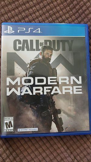 Call Of Duty Modern Warfare (PS4) for Sale in Santa Monica, CA