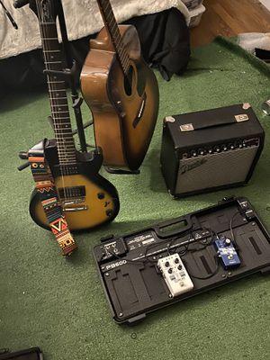 Guitar Amp and Pedal Board for Sale in Atlanta, GA