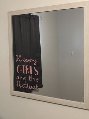 Happy Girls Wall Mirror for Sale in McDonogh, MD