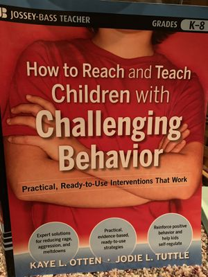 How to reach and teach children with challenging behavior. for Sale in Howell Township, NJ