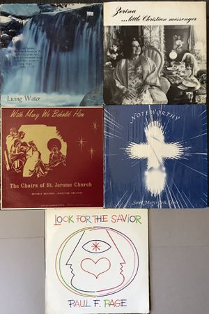 Lot of 5 Religious Vinyl Records Albums for Sale in Phillips Ranch, CA