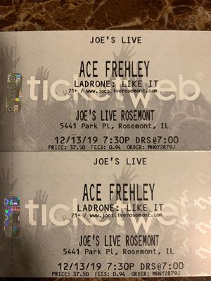 Ace Frehley Tickets for Sale in IL, US