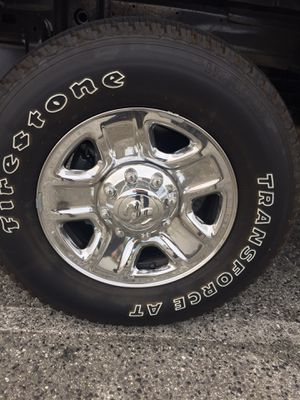 Ram 2500 8 Lug Firestone Rims and Tires! for Sale in Hercules, CA