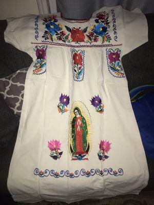 Vestido de la virgen de Guadalupe bordado for Sale in Anaheim, CA