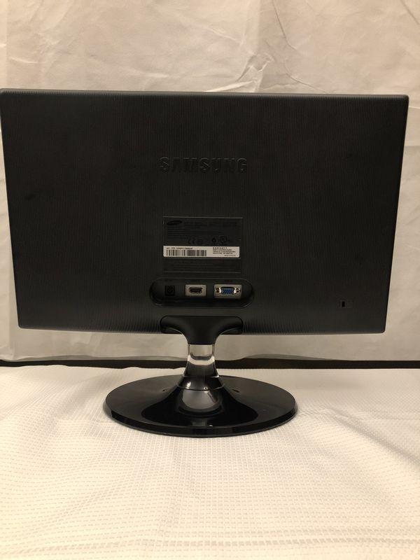 Samsung S27B350H 24-Inch Series 3 LED-Lit Computer Monitor Glossy Rose Black