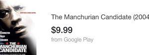 The Manchuria candidate movie dvd Denzel Washington movies dvds for Sale in Glendale, AZ