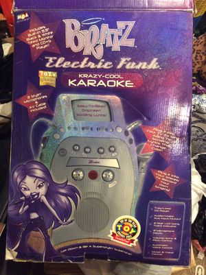 Karaoke Bratz..new in open box..with free bratz cllothes and James Brown dancing's singing doll both 60.00 each OBO for Sale in Los Angeles, CA
