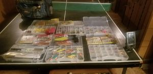 Bunch of fishing gear to much to list and depth finder for Sale in Wichita, KS
